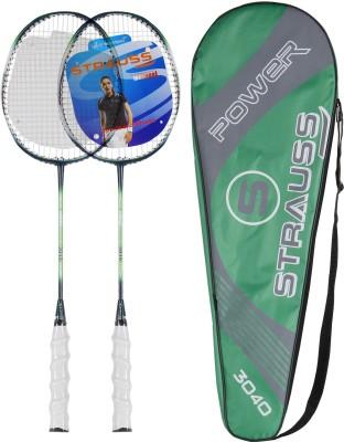 Strauss Nano Spark Badminton Racquet 2 Pieces with cover  G4 Strung Badminton Racquet