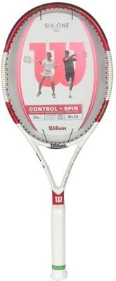 Wilson Six One 95L 18*20 TNS FRM3 Tennis Racket 4 3/8 Inch Tennis Racquet