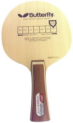 Butterfly POWER-7 FL UNSTRUNG Table Tennis Blade