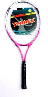 Tennex T-007 PINK Strung Tennis Racquet