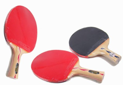 Double Happiness S-S4F3 G4 Strung Table Tennis Paddle