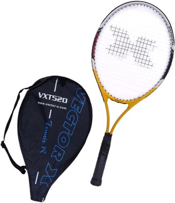 Vector X Vxt 520 27 inches Senior with 3/4th cover 4# Strung Tennis Racquet