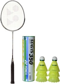 Yonex Carbonex 6000 EX G4 Strung Badminton Racquet(Multicolor, Weight - 100 g)