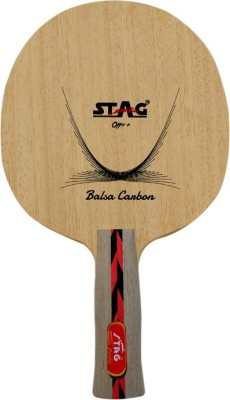 Stag Balsa Carbon Table Tennis Blade(Weight - 73 g)