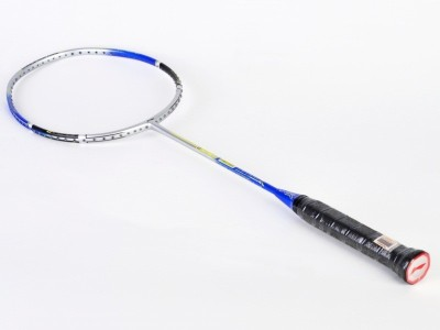 Li-Ning G-Force Power 1200 S2 Strung Badminton Racquet(Silver, Blue, Weight - 81 g)