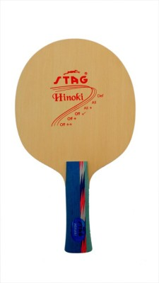 Stag Hinoki Table Tennis Blade(Weight - 72 g)