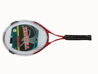 Tennex T-007 RED Strung Tennis Racquet