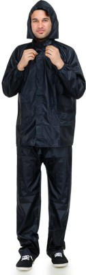 KazamaKraft Solid Mens Raincoat