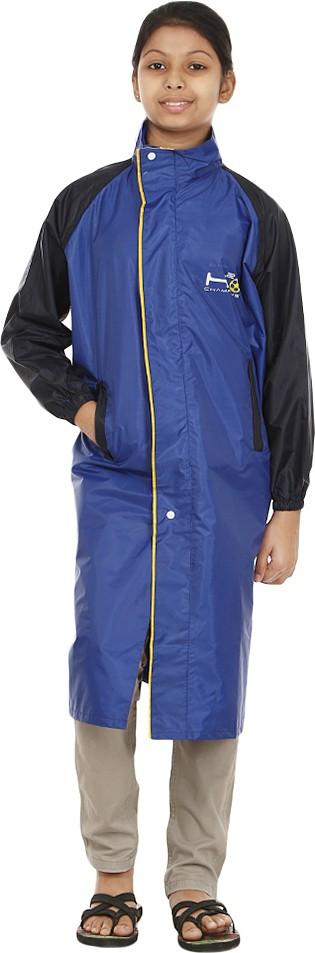 Rainfun Solid Girls Raincoat