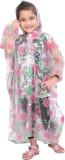 HighLands Floral Print Girls Raincoat
