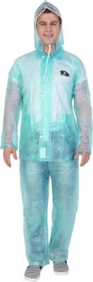 Zeel Striped Men's Raincoat