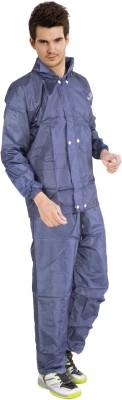 Lotus Stylish Sprinkle Solid Men's Raincoat