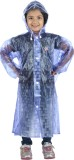 HighLands Self Design Girls Raincoat
