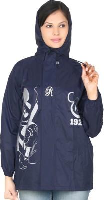 Real Graphic Print Men's Raincoat