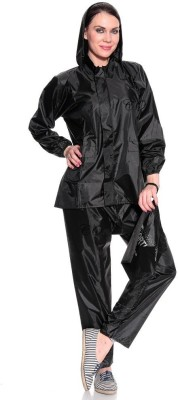 Civil Outfitters Solid Women's Raincoat