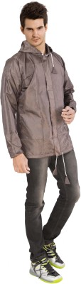 Lotus Stylish Jacket Solid Mens Raincoat