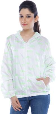 Ram Fashion Graphic Print Womens Raincoat