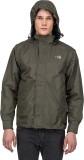 T- Base Green Reversible Rainwear Jacket...