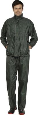 Rainfun Checkered Men's Raincoat