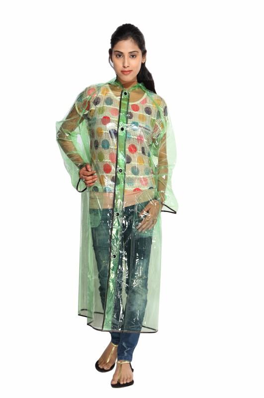 Versalis Solid Women's Raincoat