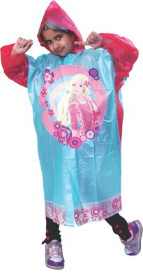 HighLands Graphic Print Girl's Raincoat