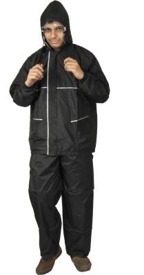 Newera Champion Award-Winning Wet-Slayer Reverseable Solid Men,s Raincoat