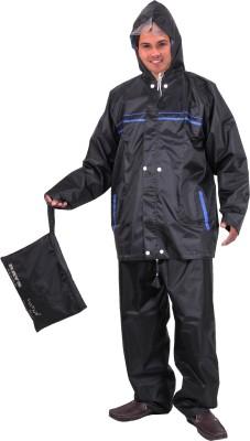 Lotus Stylish Rays Reversible Solid Men's Raincoat
