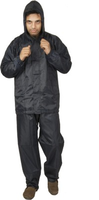 Newera Newenglandpatriots Covered From Gusty Weather Reverseable Solid Mens Raincoat
