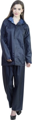 Reliable Solid Womens Raincoat