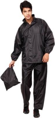 Bs Spy Self Design Men's Raincoat