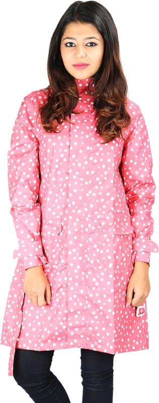 Versalis Polka Print Women's Raincoat