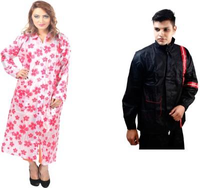 Rainfun Solid, Printed Men's Raincoat