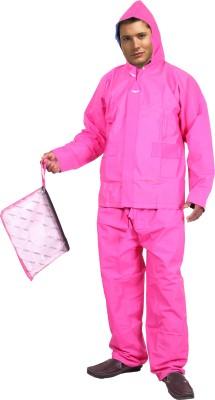 Lotus Stylish Gabro Reversible Premium Edition Solid Men's Raincoat