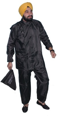 Jambo.Suit Solid Mens Raincoat