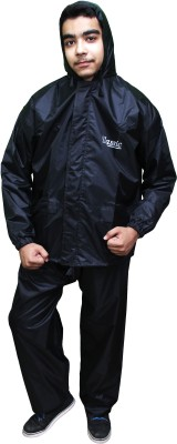 Classic Solid Men's Raincoat