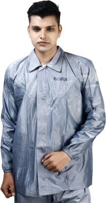 Rainfun Solid Mens Raincoat