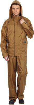 Golden Triangle Solid Men's Raincoat