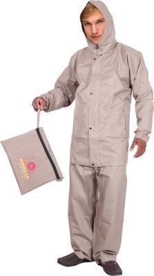 Lotus Stylish Orbit Premium Edition Solid Men's Raincoat
