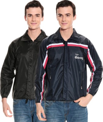 Civil Outfitters Striped Men's Raincoat