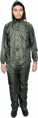 Zadine Solid Men's Raincoat