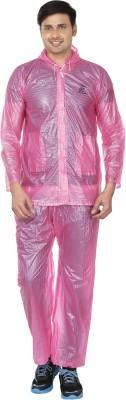 Rainfun Striped Men's Raincoat