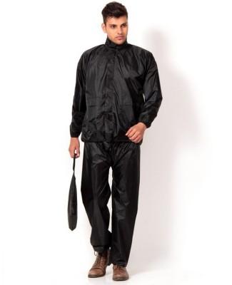 Aazo Solid Mens Raincoat
