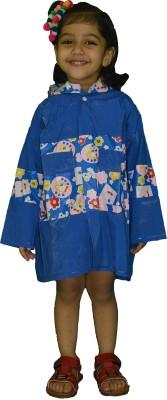 Rainfun Printed Baby Girls, Baby Boys Raincoat