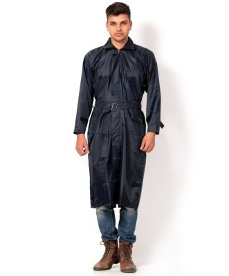 Golden Bell Solid Men's Raincoat