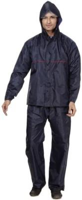 B&W Solid Mens Raincoat