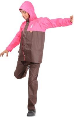 Allwin NA Solid Boy's Raincoat