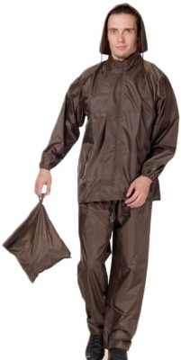 Bs Spy Rainsuit With Cap And Cover Solid Men's Raincoat