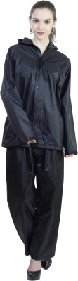 Reliable Solid Women's Raincoat