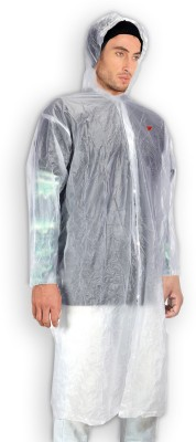 The Holiday Essentials Solid Men's Raincoat