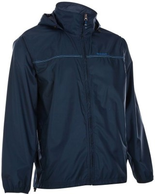 Quechua Rain Cut Solid Men's Raincoat